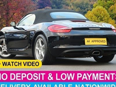 used Porsche Boxster Roadster 2.7 2d