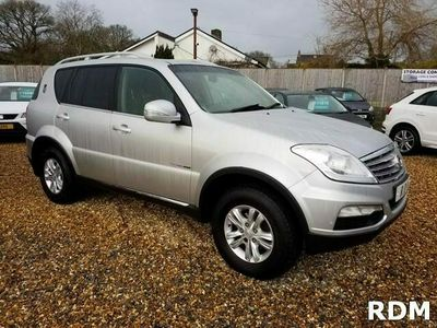 used Ssangyong Rexton -