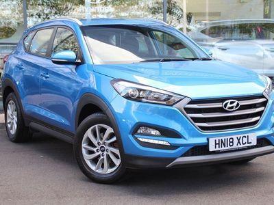 used Hyundai Tucson 1.7 Crdi Blue Drive Se Nav 5Dr 2Wd