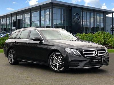 used Mercedes E220 E-Class EstateAMG Line 9G-Tronic Plus auto 5d