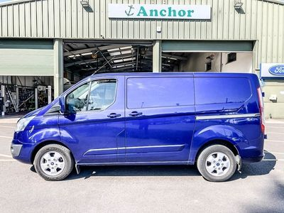 used Ford Custom TransitLWB L2H1 Low Roof 290 Limited Alloys Air Con Sensors Cruise EURO 6
