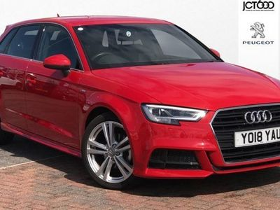used Audi A3 1.5 Tfsi S Line 5Dr S Tronic