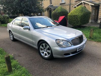 used Mercedes S320 S Class 3.2CDI L 4dr