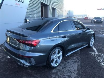 used Audi A3 35 TFSI S line 4dr