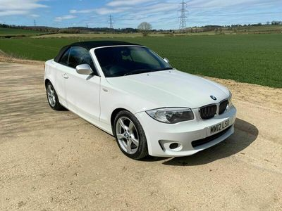 used BMW 120 Cabriolet 2.0 120d Exclusive Edition 2dr