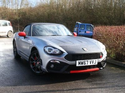 used Abarth 124 Spider 2017 Swindon 1.4 MultiAir Spider 2dr
