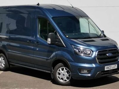 used Ford Transit 2.0 EcoBlue 130ps H2 Limited Van Auto, 2020, Van, 215 miles.