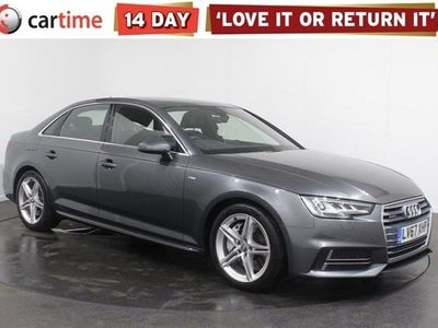 used Audi A4 S LINE TFSI QUATTRO S-A Your dream car can become a reality with cartime's fantastic finance deals.