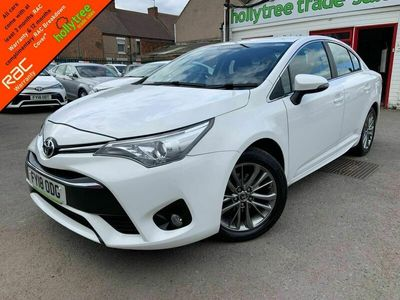 used Toyota Avensis 1.6 D-4D Business Edition (s/s) 4dr 1 Owner|Nav|EU6|Lane Departure