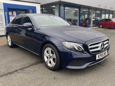 "used Mercedes 220 E ClassD Se Auto ""CAVANSITE BLUE METALLIC GREAT COL 2.0 4dr"