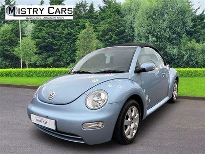 used VW Beetle 1.6 Cabriolet 2dr