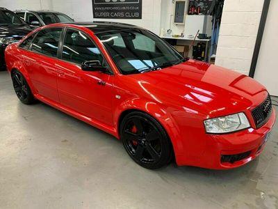 used Audi RS6 4.2 quattro 4dr