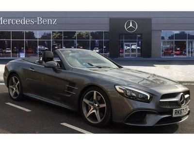 used Mercedes SL400 AMG Line 2dr 9G-Tronic Petrol Convertible 3.0