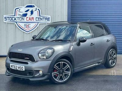 used Mini John Cooper Works Countryman 1.6 COOPER WORKS 5d 215 BHP LEATHER LOUNGE, MEDIA PACK, WRAPPED