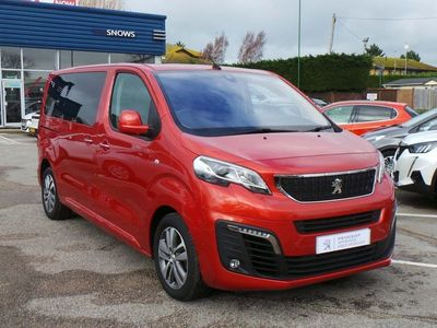 used Peugeot Traveller 2018 Chichester BLUEHDI S/S ALLURE STANDARD