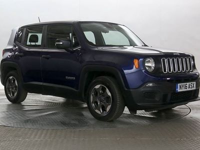 used Jeep Renegade 1.6 M-Jet Sport 5dr