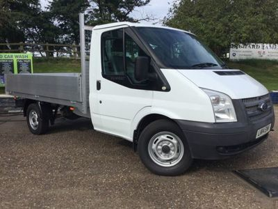 used Ford Transit Chassis Cab TDCi 100ps [DRW] Euro 5, 2014, not known, 112000 miles.