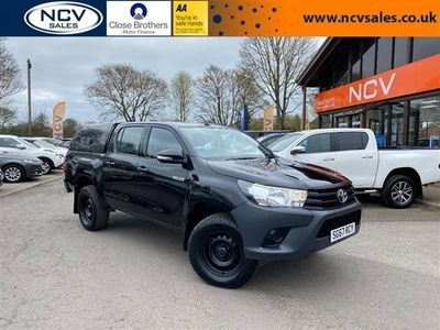 used Toyota HiLux 2.4 D-4D Active Double Cab Pickup 4WD EU6 4dr (3.5t)