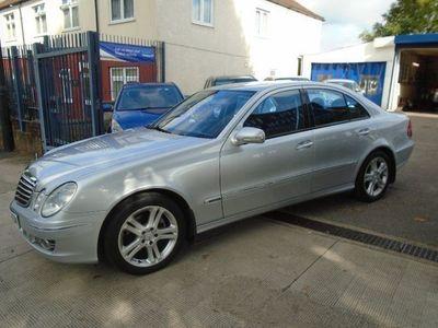 used Mercedes E280 E Class 2007 MERCEDES E CLASSCDi Tip Auto Avantgarde Saloon 2007
