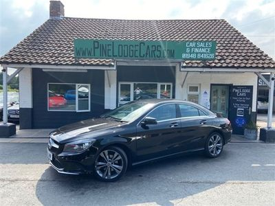 used Mercedes CLA200 CLA Class 2.1D SPORT 12 MONTHS MOT AND FULL SERVICE, 2018 ( )