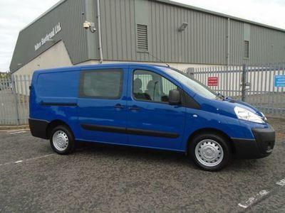 used Citroën Dispatch 1200 L2 H1 W-V HDI Crew Van 5 Seater, 2014, Van, 46000 miles.