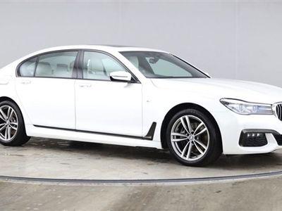 used BMW 740L 7 SERIES 3.0 D XDRIVE M SPORT 4dr