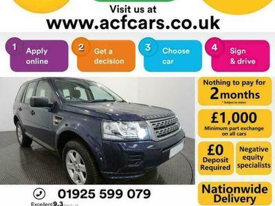 used Land Rover Freelander SD4 GS - CAR FINANCE FR £201 PCM