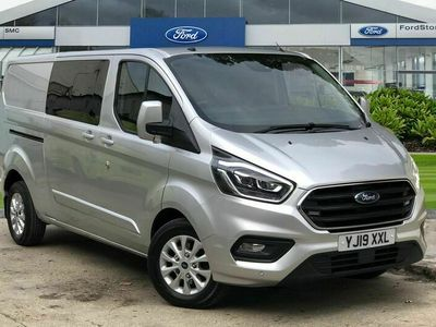 used Ford Custom Transit2.0TDCi 320 L2H1 Limited (170PS)(EU6) Double Cab-in-Van