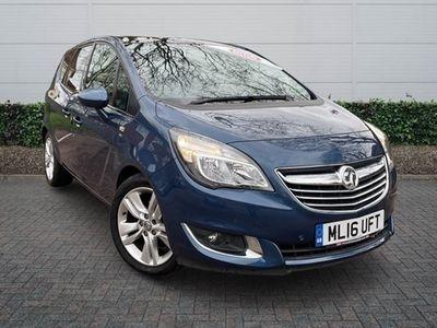 used Vauxhall Meriva 1.4T 16V SE 5dr Auto Estate