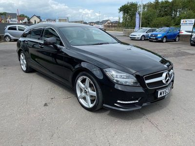 used Mercedes CLS250 Cls-ClassCDI BlueEFFICIENCY AMG Sport 5dr Tip Auto 2.2
