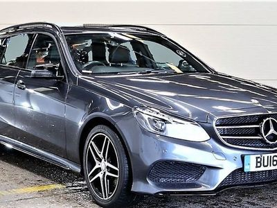 used Mercedes E220 E-Class 2.1BLUETEC AMG NIGHT EDITION 5d 174 BHP VAT Qualifying vehicle, price