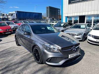 used Mercedes A200 A-Class 1.6AMG LINE 5d 154 BHP
