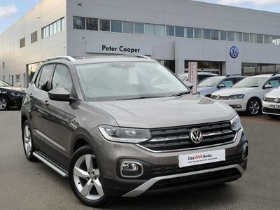 used VW T-Cross 1.0 TSI 115 SEL 5dr