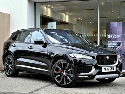 used Jaguar F-Pace 3.0d V6 First Edition Auto AWD (s/s) 5dr