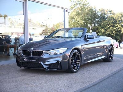 used BMW M4 3.0 M DCT (s/s) 2dr HEAD UP DISPLAY AIRSCARF Convertible 2015