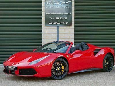 used Ferrari 488 Spider Convertible 3.9 Semi Auto Petrol 2dr