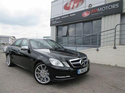used Mercedes E220 E Class 2.1CDI BLUEEFFICIENCY S/S SE 4d 170 BHP