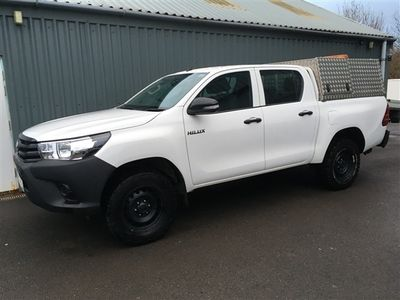 used Toyota HiLux ACTIVE 4WD D-4D Double Cab *Air Con* EURO 6 Only 43000 Miles