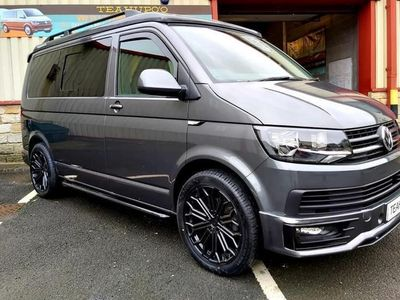 used VW T6 DSG T30 BESPOKE STUNNING LOOKING HIGHLINE CAMPERVAN BUILT BY TEAHUPOO SIMPLE THE BEST