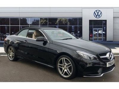 used Mercedes E200 E-ClassAMG Line 2dr 7G-Tronic