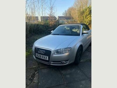 used Audi A4 Cabriolet Cabriolet 2.0 TFSI S line Multitronic 2dr
