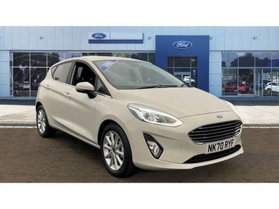 used Ford Fiesta 1.0 EcoBoost Hybrid mHEV 125 Titanium 5dr