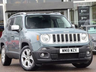 used Jeep Renegade 1.6 Multijet II (120bhp) Limited (s/s) 5dr