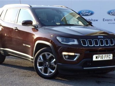 used Jeep Compass 1.6 Multijet 120 Limited 5dr [2WD]