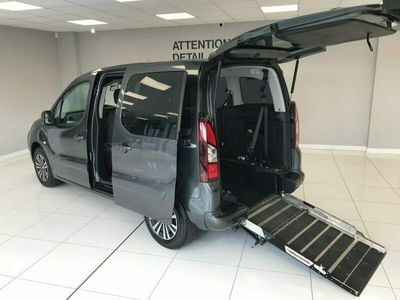 used Peugeot Partner Tepee HDI TEPEE S WHEELCHAIR ADAPTED AUTOMATIC DIESEL WITH JUST 7,100 MILES! 5-Door