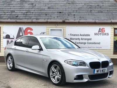 used BMW 530 5 Series 3.0 d M Sport Saloon 4dr Diesel Automatic (160 g/km, 245 bhp)