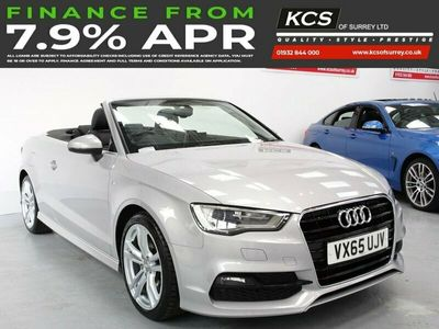 used Audi A3 Cabriolet 1.4 TFSI S LINE 2d 148 BHP