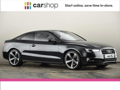used Audi A5 2.0 TDI 177 Black Edition 2dr Multitronic Coupe 2014