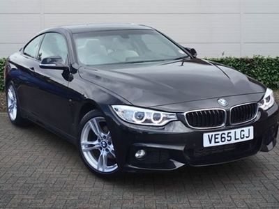 used BMW 420 4 Series d [190] M Sport 2dr Auto [Professional Media] Coupe 2015