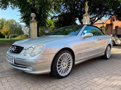 used Mercedes CLK200 CLKKOMPRESSOR AVANTGARDE AUTOMATIC, LOW MILEAGE SERVICE HISTORY 1.8 2dr